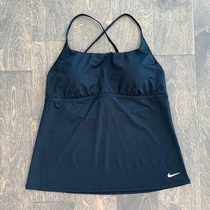 Nike Black Criss Cross Tank Top